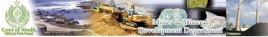 Sindh Mines & Mineral Development Department Government of Sindh